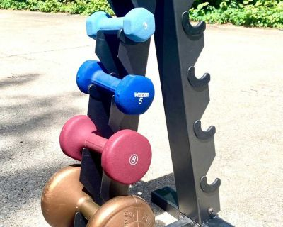 Metal Dumbbell Rack Stand (4 pics)