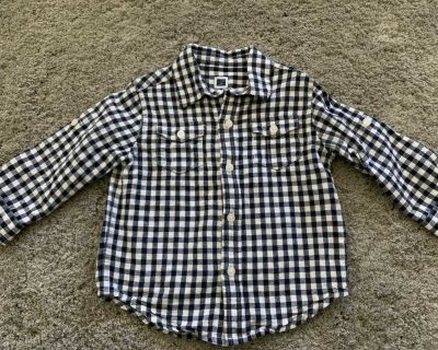 Janie and Jack Linen Shirt