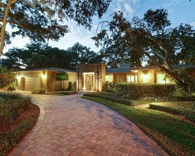 Luxury home offering privacy and desirable location, great for long term rental. - Snell Isle
