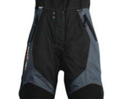 Katahdin Gear 7412084 Katahdin Gear X2-x Bib Women's-black & Grey Large