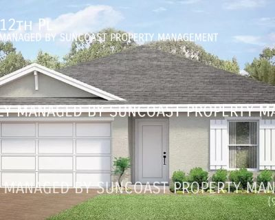 BRAND NEW 4BR/2BA Home for Rent in Cape Coral!