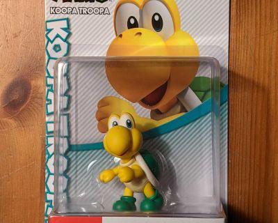 **VERY RARE** Koopa Troopa amiibo Figure Super Mario series - Nintendo Switch, WiU, 3DS