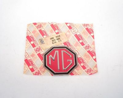 Mgb & Mg Midget 1970 1971 1972 New Unipart Brand Mg Front Grille Badge Aha9318