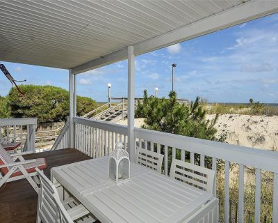 FREE ACTIVITIES!!! Just remodeled throughout with brand new kitchen and baths, this first floor ocean front very spacious 2 bedroom, 2 bath condo is the ideal family beach getaway - Fenwick Island