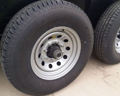 NEW Trailer Tires & Rims 10 12 14 Ply $69.00