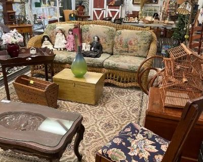 Antique Shop Liquidation Sale