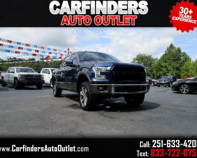 """Used 2016 Ford F-150 4WD SuperCrew 145"""" King Ranch"""