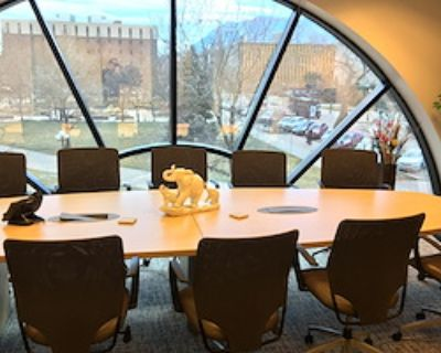 Private Meeting Room for 4 at Inspired Workspace (Plaza)