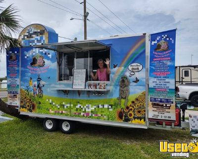 Licensed 2020 - 8' x 14' Turnkey Ice Cream and Bakery Concession Trailer