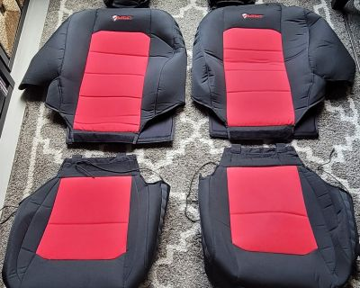Washington, D.C. - Bartact Tactical Seat Covers (Black/Red) for 2019-21 JL / Used / $150 OBO