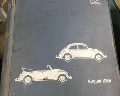 1964 Parts List In German OEM