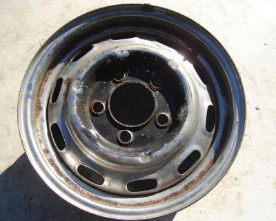 Porsche 356 901 911 912 Steel Wheel Wheels 5.5 X 15 Lemerz 7/68