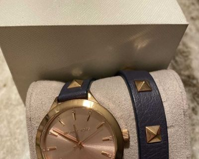 Authentic Michael Kors watch and gift box