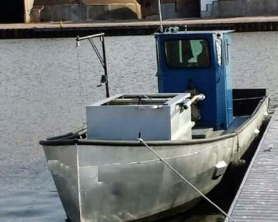 1990 Commercial Trapnetter/Minnow Boat