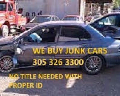 We Buy Used and Junk Cars/Trucks