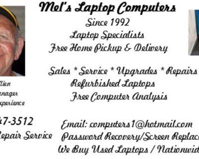 Mel's Laptop Computers