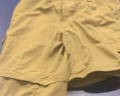 Boys North Face zip off hiking pants