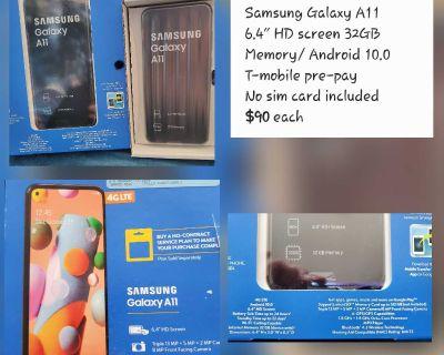 Samsung Galaxy A11 prepaid phones