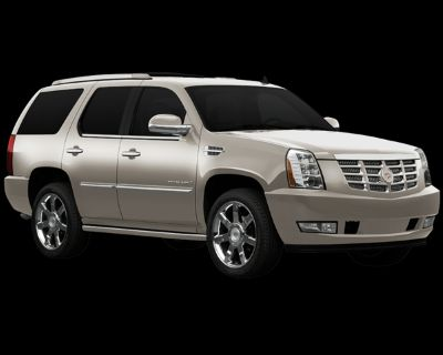 Pre-Owned 2009 Cadillac Escalade Base With Navigation & AWD