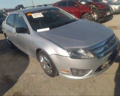 Salvage Silver 2011 Ford Fusion