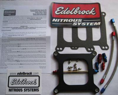 Nos/nitrous/nx/zex/ Edelbrock Performer Rpm Holley 4150 Plate Kit 100-250hp New!