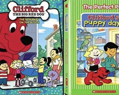 Looking for Clifford the Red puppy and/or Clifford the big red dog DVDs!