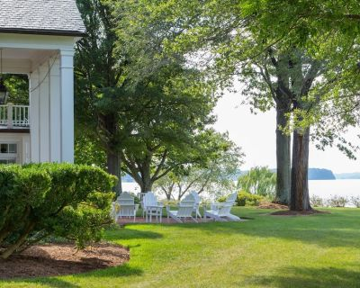 Truly unique stay riverfront cottages w/ pool, beach, gardens and vineyards - James Monroe