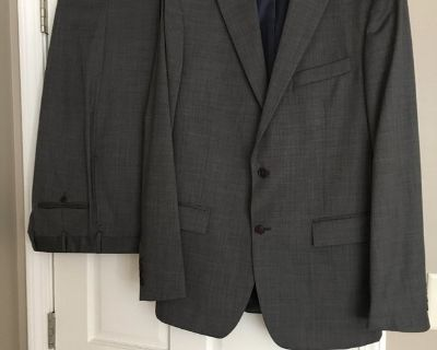 Brooks Brothers Charcoal Suit 40L