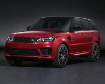 2020 Land Rover Range Rover Sport HSE Dynamic V8 Supercharged