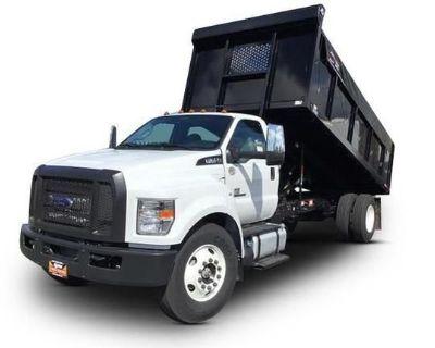 2022 FORD F650 Flatbed Trucks Medium Duty