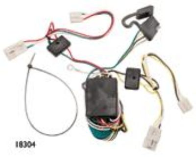 Draw-tite Trailer Hitch Wiring Tow Harness For Toyota Sienna 2007 2008 2009 2010