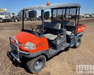 2015 Kubota RTV1140CPX 4x4 Utility Vehicle