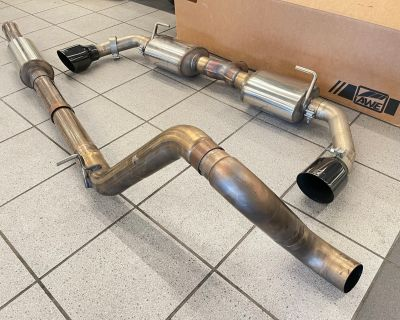 Pennsylvania - AWE Tread exhaust 2.0L with mid pipe and resonator