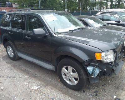 Salvage Gray 2009 Ford Escape