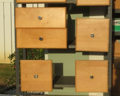 drawers and doors for cabinet