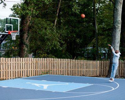 Backyard Oasis with swimming pool, hot tub, and basketball court, Smyrna, GA