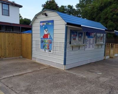 8' x 10' Shaved Ice Building / Mobile Snowball Business