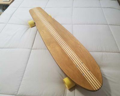 Longboard Skateboard **NEW**. Wood. Handmade.