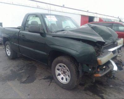 Salvage Green 2005 Chevrolet Silverado 1500
