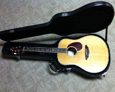 $1,050 OBO Breedlove AD20/SR Plus /w Fishman Pickup - Beautiful Acoustic Guitar