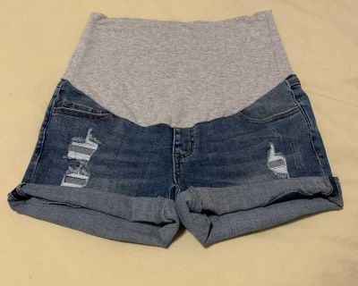 Thyme Slim Fit Jean Shorts