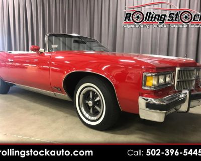 Used 1975 Pontiac Grand Ville Brougham Convertible