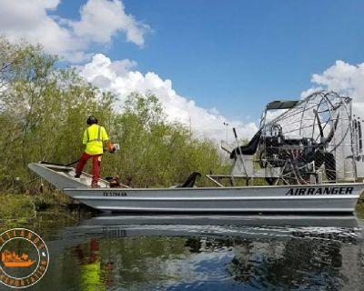 Air Boat Transportation Beaumont - Wetlands Transport Service