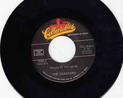 CHANTERS ~ Stars In The Sky*Mint-45 !