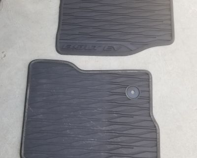 OEM all-weather floormats (Central/South California)