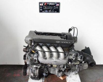 2000-05 Jdm 2zz-ge Toyota Celica Corolla Matrix 1.8l 2zz Engine 6seepd Lsd Trans