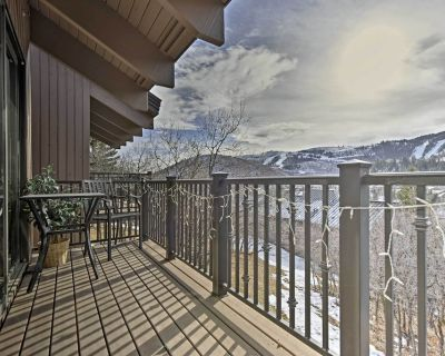 Park City Home -Hot Tub, Sauna & Deck w/Mtn Views! - Deer Valley