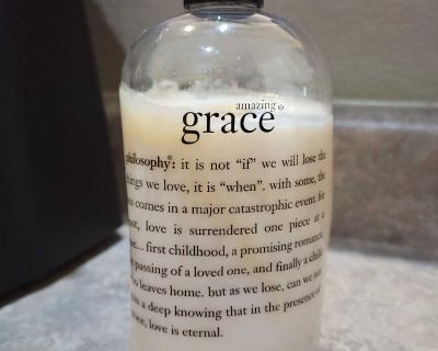 PHILOSOPHY AMAZING GRACE PERFUMED HAIR CONDITIONER, 16 OZ. USED ONCE.