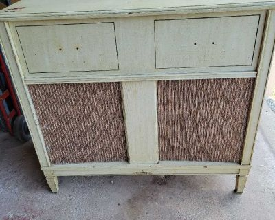 Vintage stereo console
