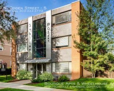 59 N Ogden St #5, Denver, CO 80218 1 Bedroom Apartment